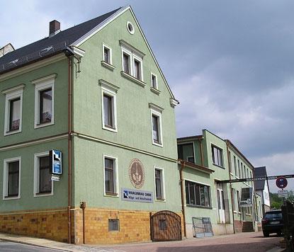 Firmengebäude von Waagenbau GmbH
